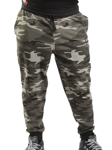 Camouflage Bodybuilding Baggy Workout Pants