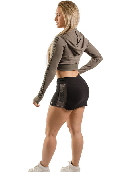 Two Tone Tight Skort