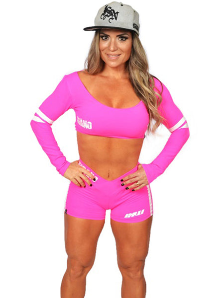 Long Sleeve Sports Bra Destroyer