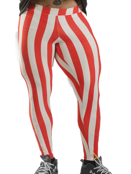 Striped Tight High Legging