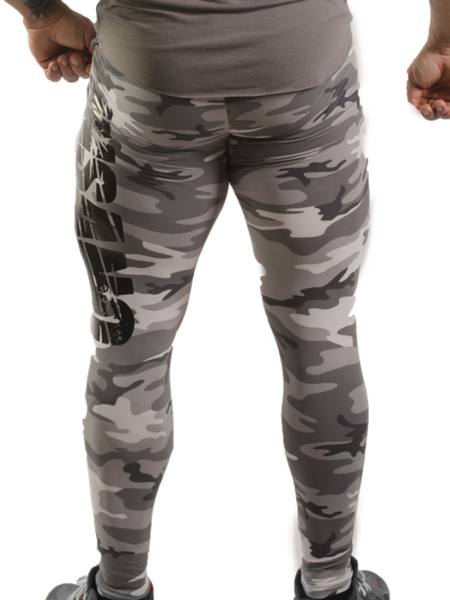 Tight High Camouflaged Legging