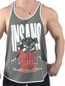 Drop Armhole Racerback Tank True Bodybuilders