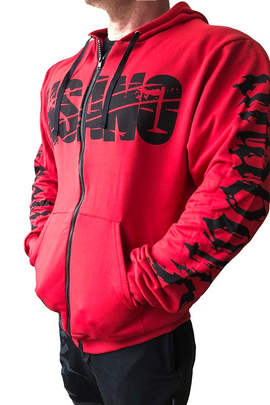 Full-Zip Hoodie Sweat Jacket