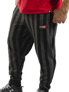 Striped Bodybuilding Baggy Workout Pants