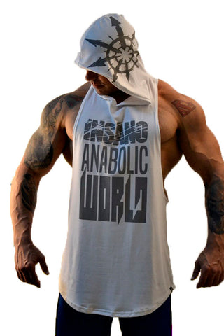 Drop Armhole Hooded Tank