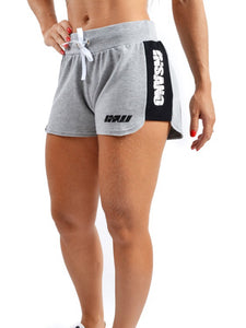 Drawstring Side Band Shorts