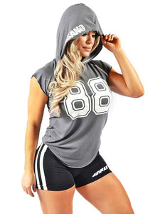 Hooded Cap Sleeve Tank 88