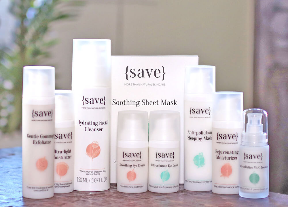 giveaway set of skincare products