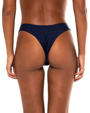 Load image into Gallery viewer, Minima bikini bottom in Navy (back)