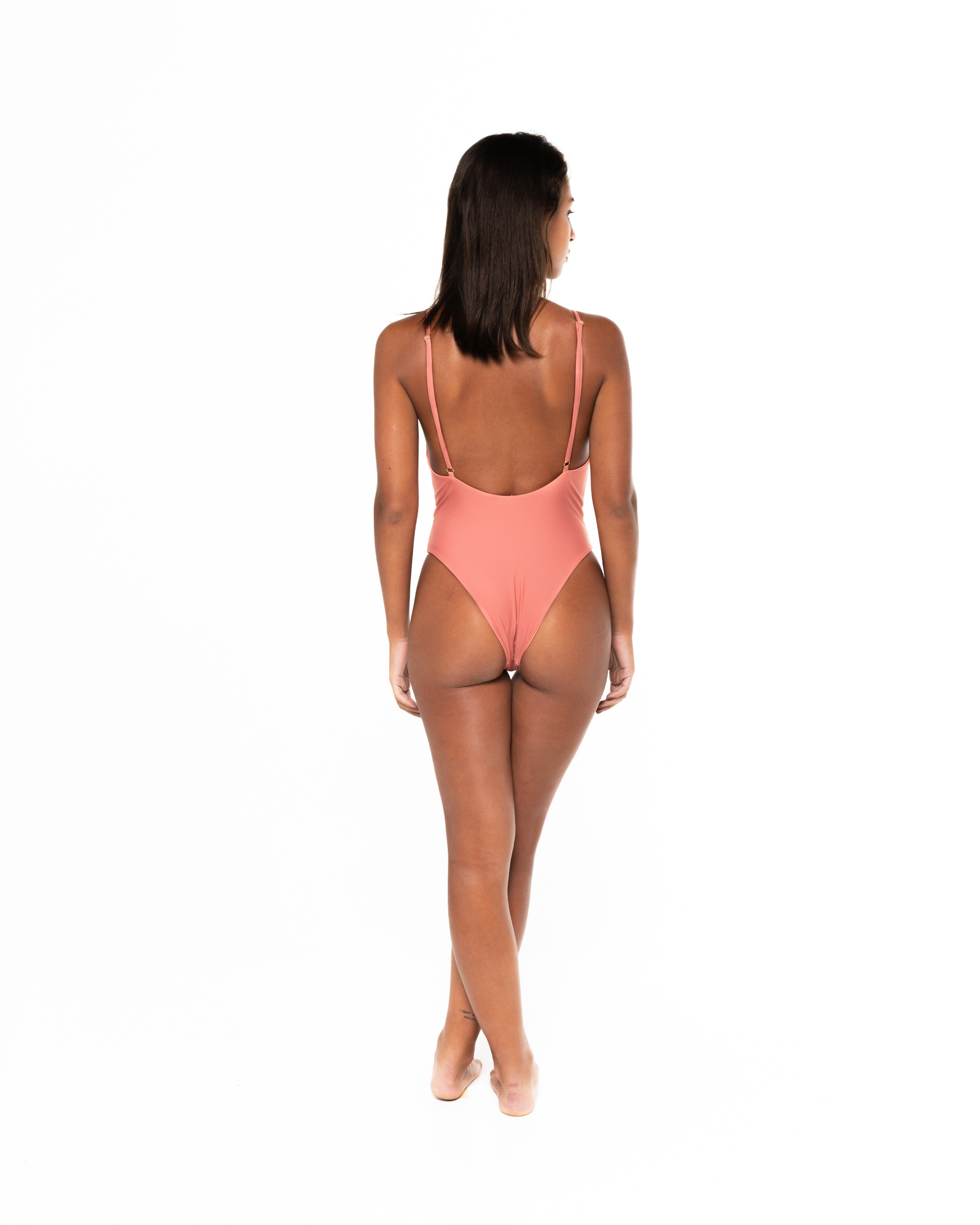 Sonica One Piece Swimsuit in Ampolla (back)