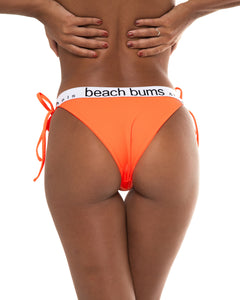 Sperta bikini bottom in Neon Orange (back)