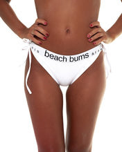 Load image into Gallery viewer, Sperta bikini bottom in White (front)
