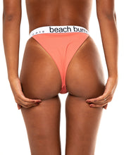 Load image into Gallery viewer, Suki bikini bottom in Champagne Pink (back)