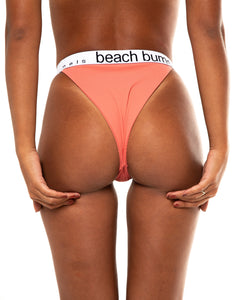 Suki bikini bottom in Champagne Pink (back)