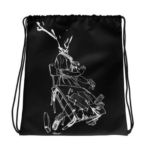 THINK AGAIN V2 Drawstring bag