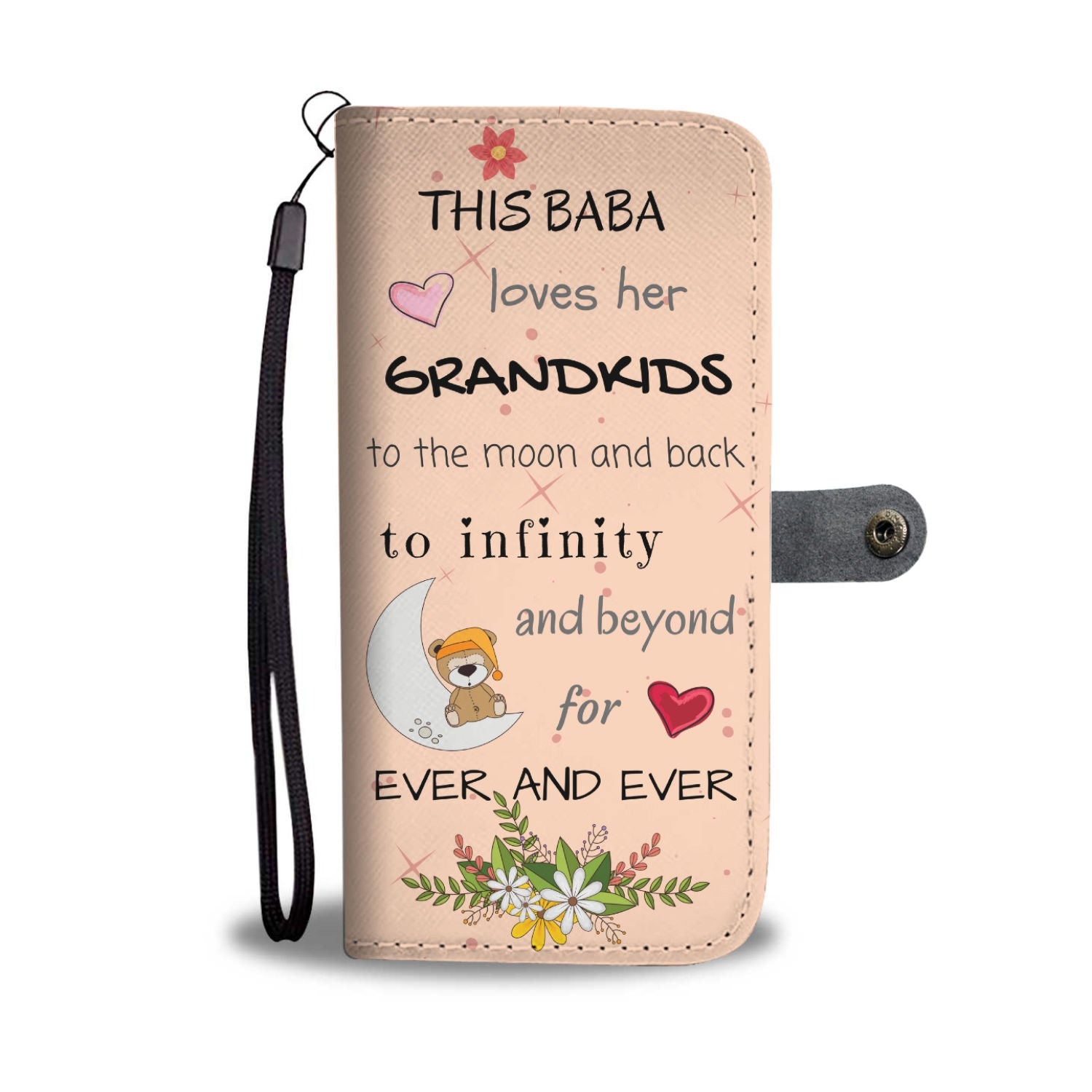Baba Wallet Phone Case