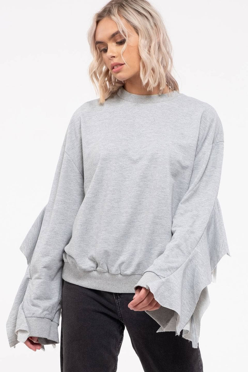Flow Sleeve Sweater ONE LEFT