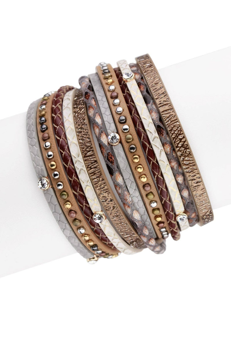 Preorder Cabo Leather Wrap Bracelet