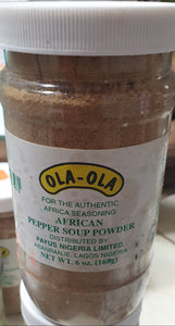Pepper soup powder