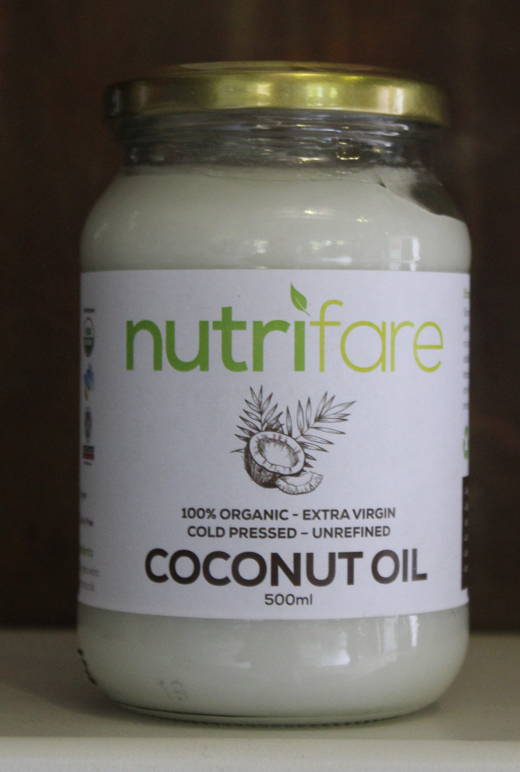 Nutrifare Coconut Oil