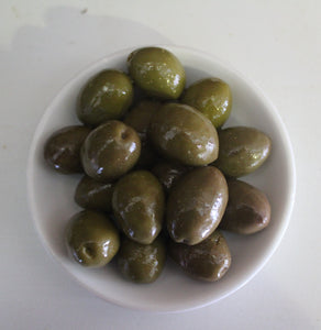 Green Mammoth Olives