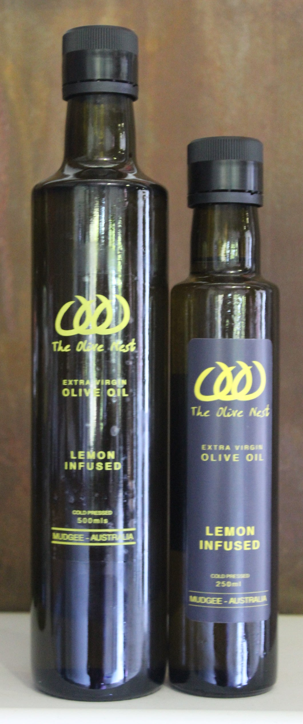 Lemon Infused Olive Oil from