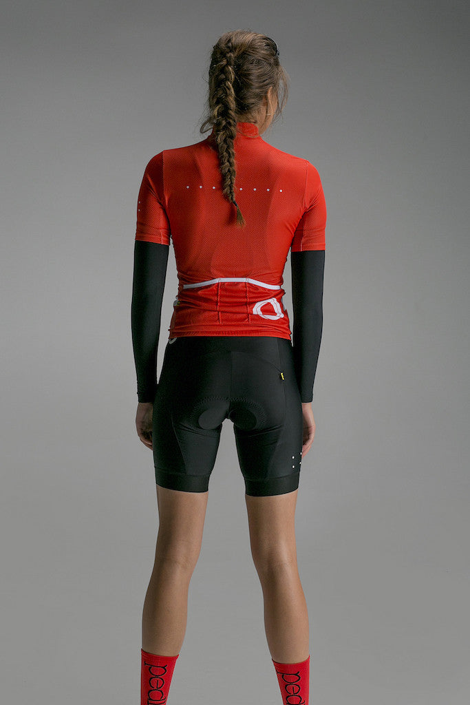 Women's Core Jersey Orange - Pedla | The CyclingTips Emporium - 4