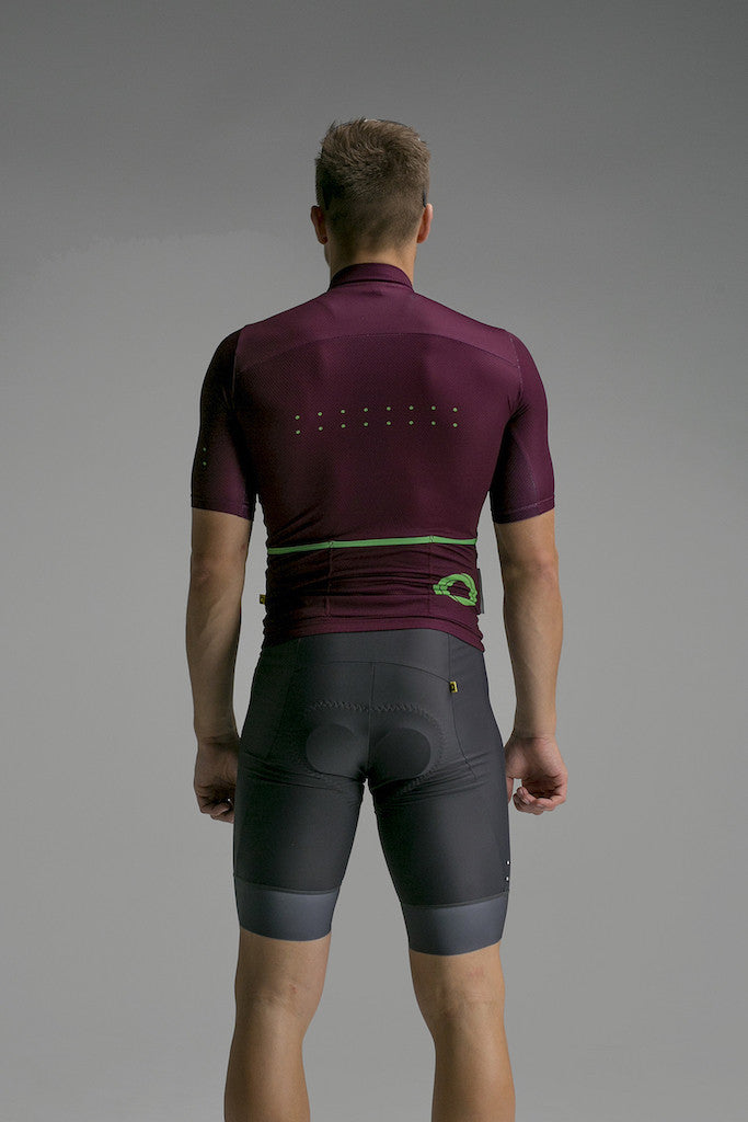 Pedla Plum Core Jersey | The CyclingTips Emporium - 3