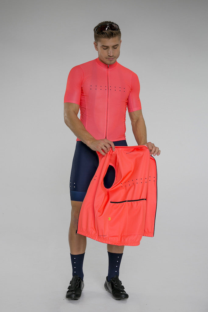 Pedla AquaDry Watermelon Waterproof Vest | The CyclingTips Emporium - 3