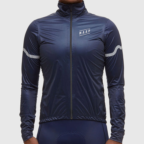 MAAP Navy BASE Rain Jacket | The CyclingTips Emporium - 1