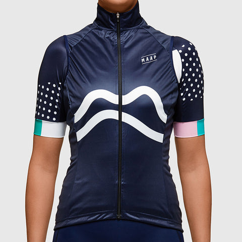 MAAP Navy Women's Team Vest | The CyclingTips Emporium - 1