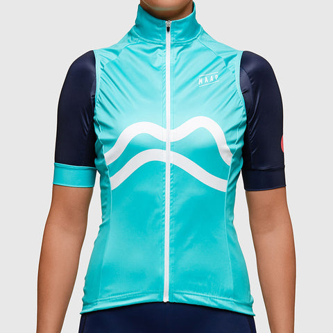 MAAP Aqua Women's Team Vest | The CyclingTips Emporium - 1