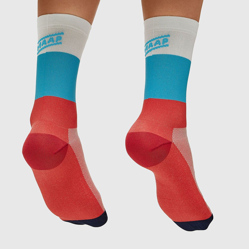 MAAP Fat Stripe Sock Red/White/Blue | The CyclingTips Emporium - 1