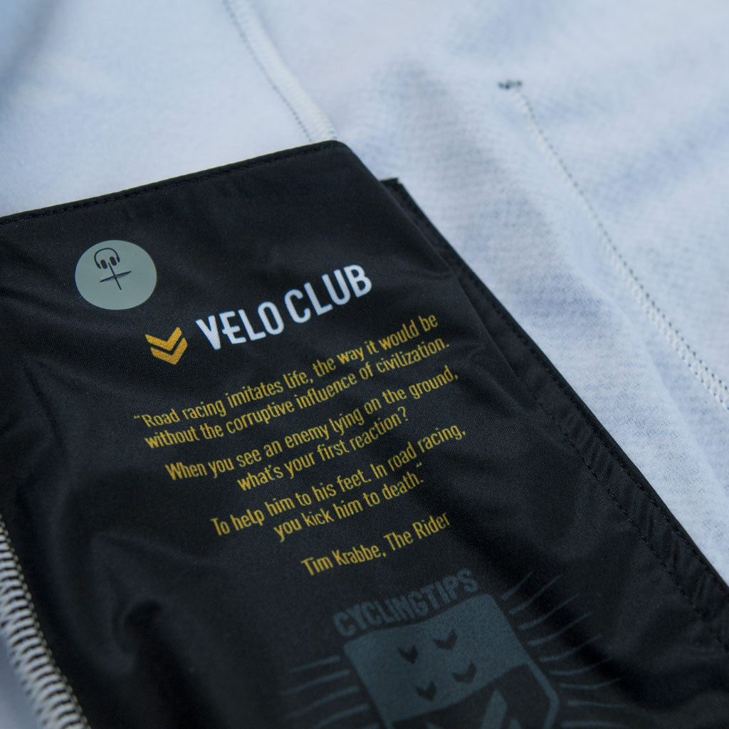 VeloClub Men's Long Sleeve Thermal Jersey