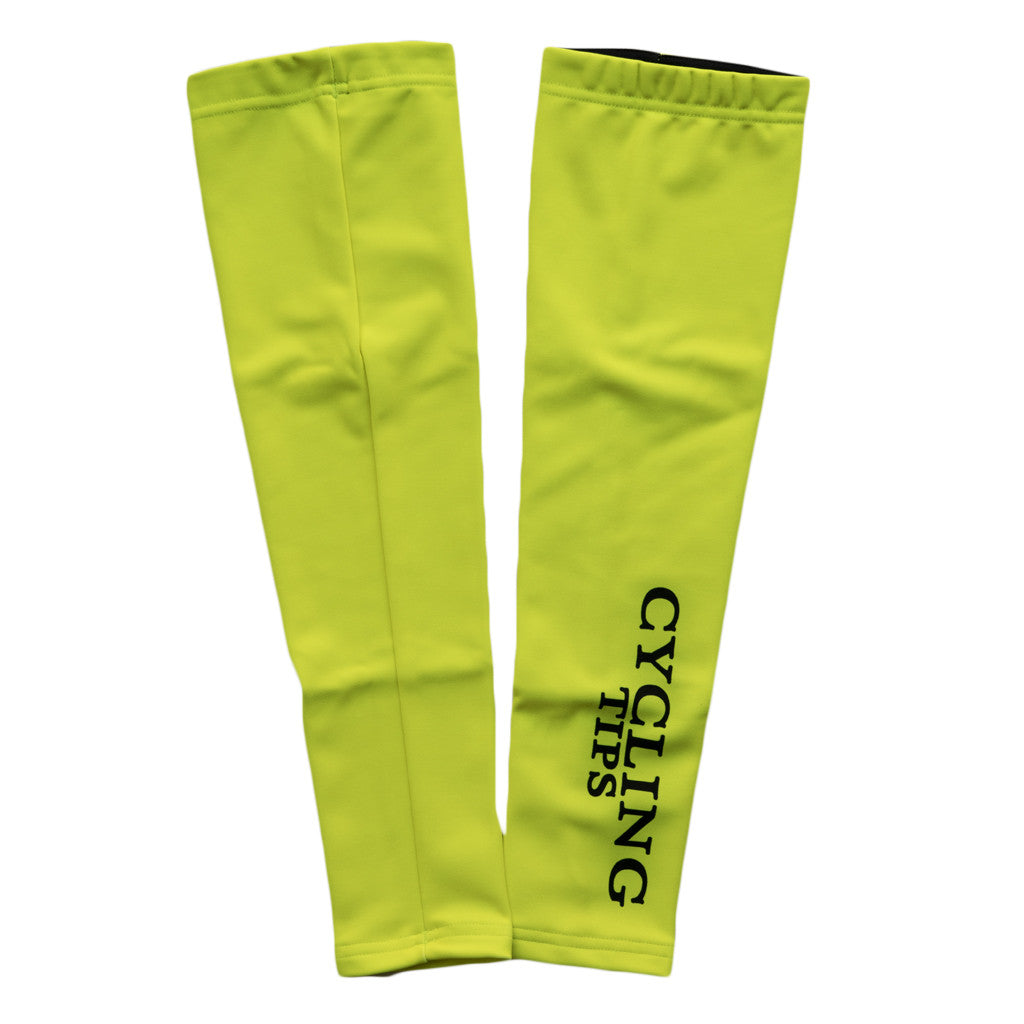 Fluoro CyclingTips Arm Warmers