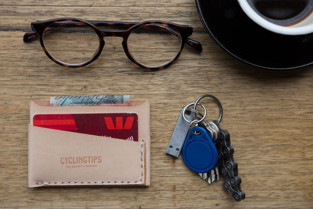 CyclingTips Slim Leather Wallet by The Nope | The CyclingTips Emporium - 3