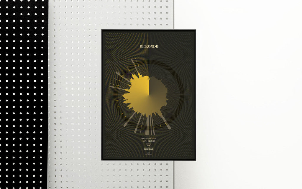 De Ronde - Tour of Flanders - 2016: Limited Edition print by Massif Central | The CyclingTips Emporium - 4