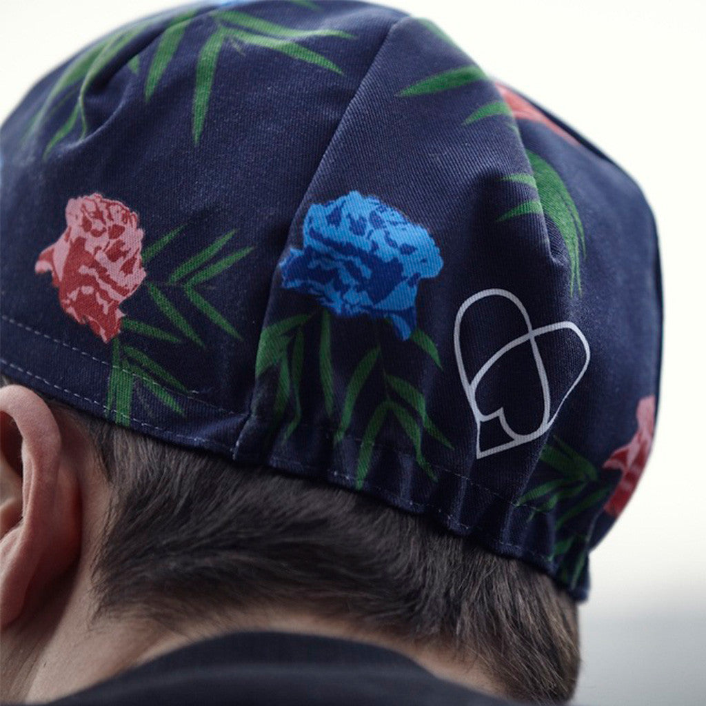 Warsaw Floral Cycling Cap | The CyclingTips Emporium - 2