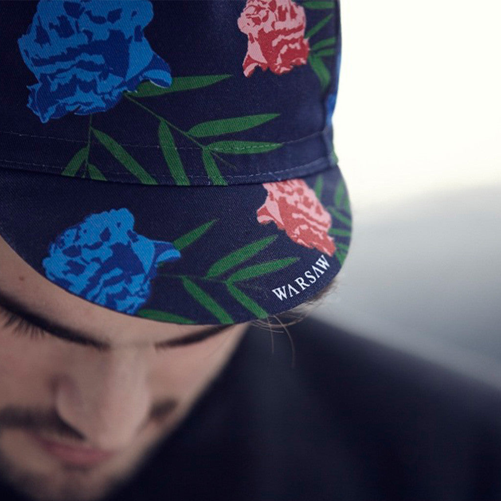 Warsaw Floral Cycling Cap | The CyclingTips Emporium - 3