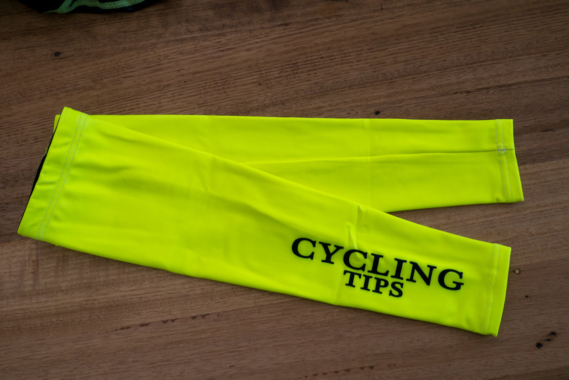 Fluro CyclingTips Arm Warmers |  - 1
