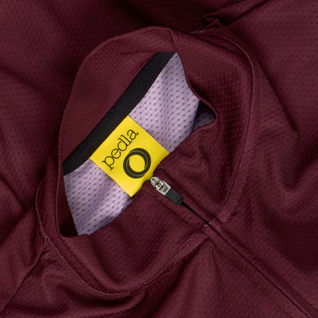 Pedla Plum Core Jersey | The CyclingTips Emporium - 5