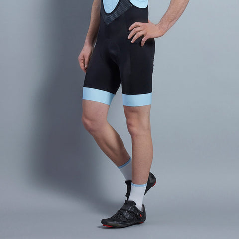 Katusha Black/ Blue Icon Bib Shorts | The CyclingTips Emporium - 1