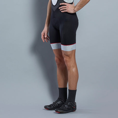 Katusha Black AOP Icon Bib Shorts | The CyclingTips Emporium - 1
