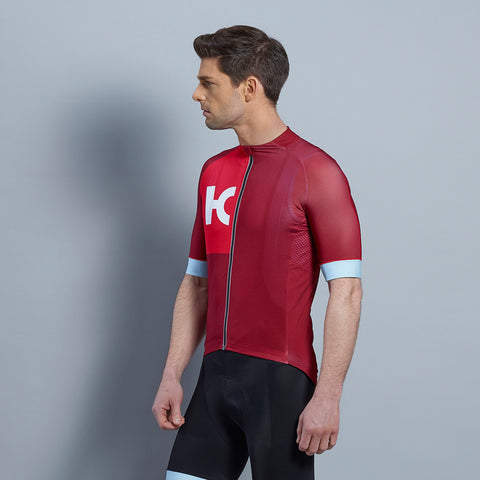 Katusha Superlight Sangre Coral Jersey | The CyclingTips Emporium - 1