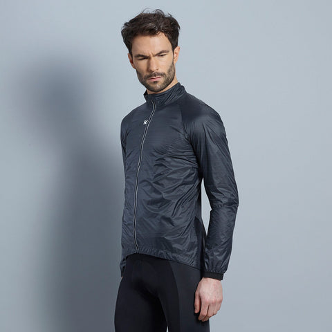 Katusha Black Wind Jacket | The CyclingTips Emporium - 1