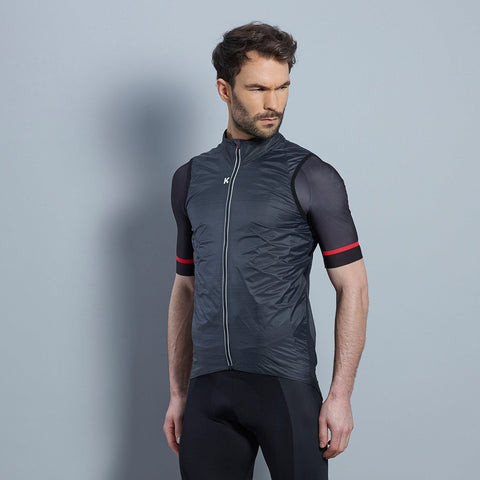 Katusha Black Wind Vest | The CyclingTips Emporium - 1