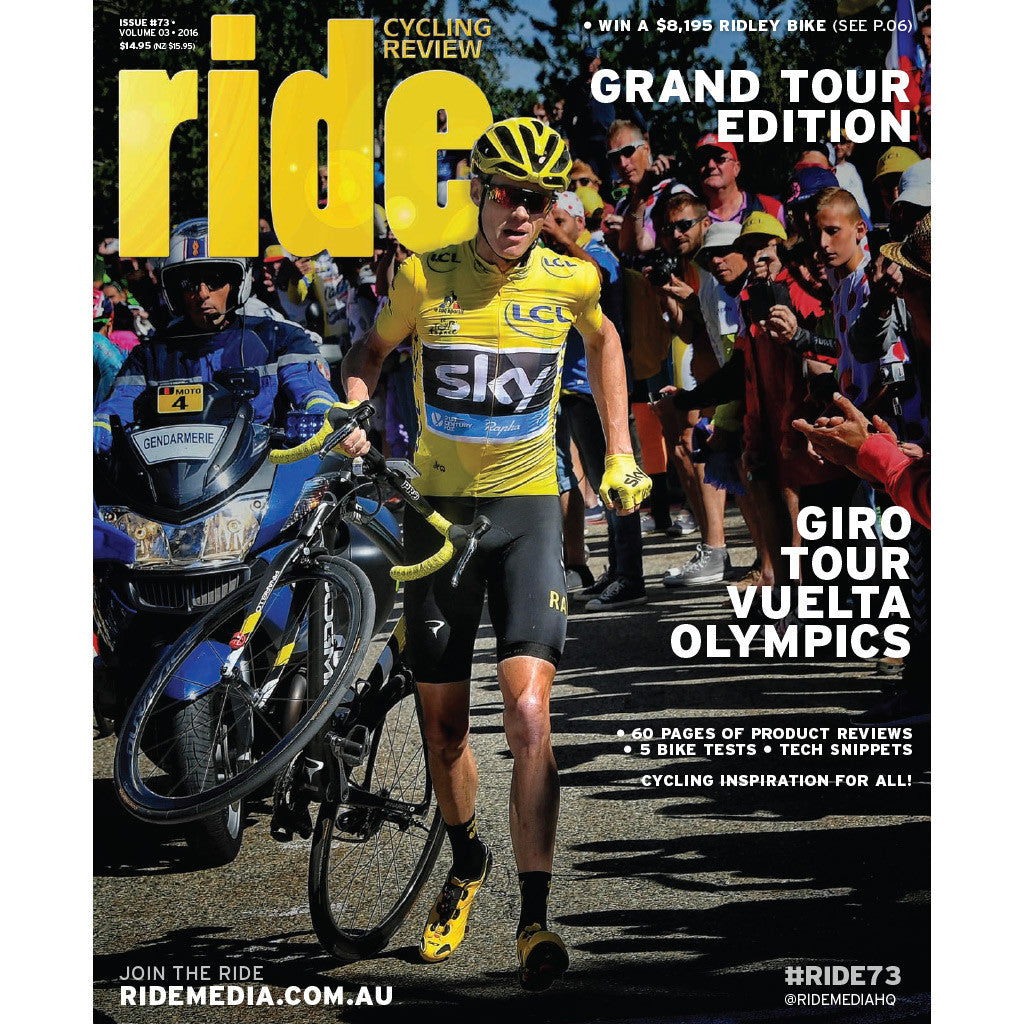 RIDE Cycling Review Magazine Subscription - 1 year Australia delivery
