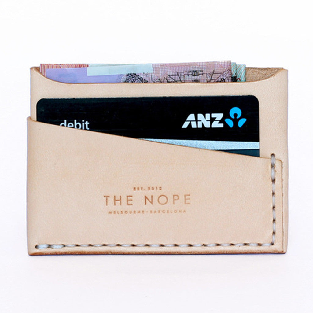 CyclingTips Slim Leather Wallet by The Nope | The CyclingTips Emporium - 1