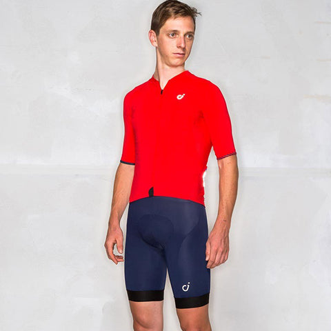Velocio Men's Classic Red Jersey