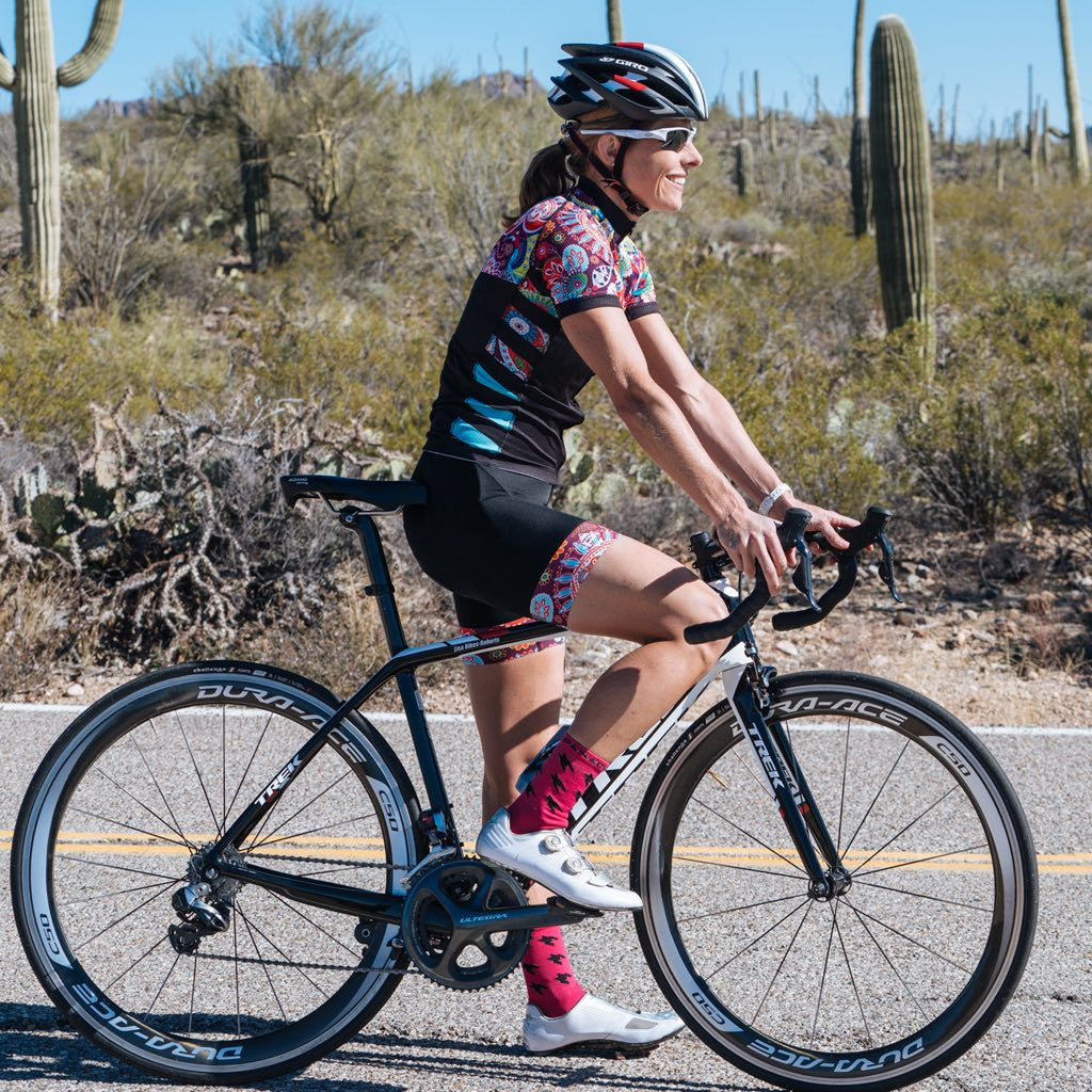 Panache Women's Paisley Bib Short | The CyclingTips Emporium - 3